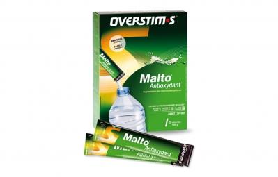 overstims boite 20 sticks boisson malto antioxydant citron