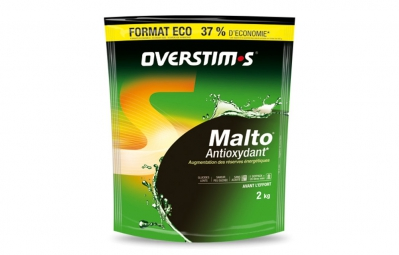 Overstims boisson energetique malto antioxydant cocktail d agrumes 2kg