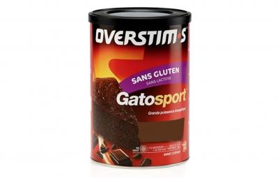 OVERSTIMS Gâteau GATOSPORT SANS GLUTEN Chocolat 400g