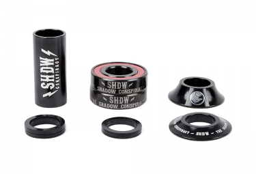 TSC Mid Bottom Bracket STACKED Black