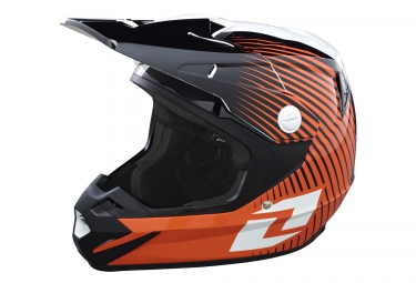 one industries casque integral atom phantom orange blanc noir xl 61 62 cm