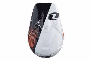 one industries casque integral atom phantom orange blanc noir m 57 58 cm
