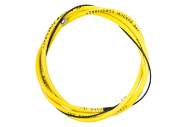 shadow cable de frein linear jaune