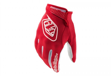 troy lee designs paire de gants longs gp air rouge s