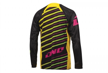 ONE INDUSTRIES Maillot Manches Longues STREAKER DH Jaune Noir