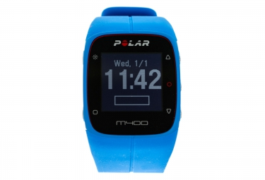 Montre GPS Polar M400 GPS HR Bleu