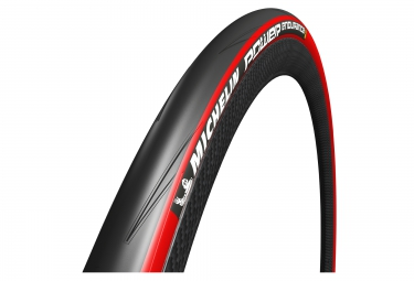 pneu michelin power endurance 700 mm tringle souple rouge 25 mm