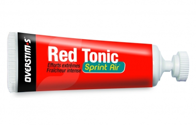overstims gel energetique red tonic sprint air citron givre