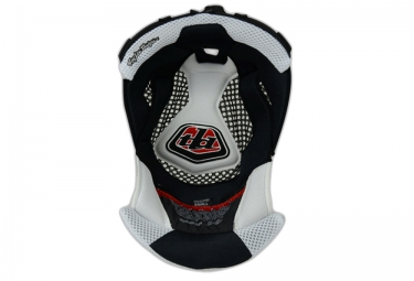 Gommapiuma per casco TROY LEE DESIGNS HEADLINER D3 Bianca