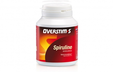 OVERSTIMS Food Supplement SPIRULINA 60 capsule pill-box