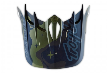 TROY LEE DESIGNS Helmet Visor D2 GALAXY Green