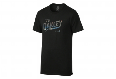 oakley tee shirt legs coupe droite noir m