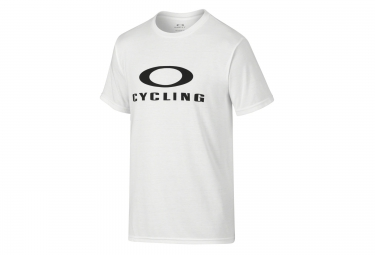 OAKLEY Tee Shirt O-CYCLING Coupe Droite White