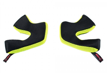 troy lee designs mousse de casque d3 jaune l