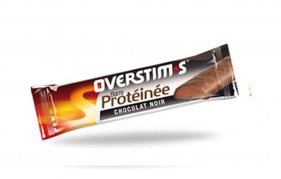 overstims barre hyperproteinee chocolat noir