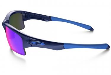 oakley lunettes enfant quarter jacket bleu rouge iridium ref oo9200 04