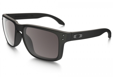 Oakley Holbrook Sunglasses Matte Black / Warm Grey Ref 9102-01