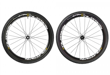 MAVIC Wheelset CROSSRIDE UST 26'' WTS 6 Holes | F 15x100 | R 12x135/142 | Tires QUEST 2.40