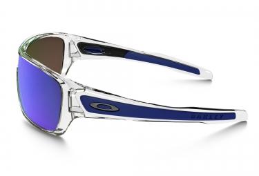 OAKLEY Lunettes TURBINE ROTOR Polished Clear / Sapphire Iridium réf OO9307-10