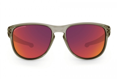 Lunettes Oakley SLIVER R Gris Rouge Polarisé