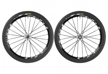 mavic paires de roues crossmax xl pro wts 27 5 av 15 mm ar 12x142 mm corps de roue l