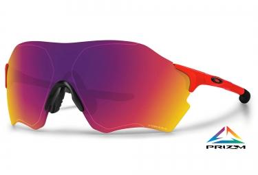 oakley lunettes evzero range rouge rouge prizm road ref oo9327 04