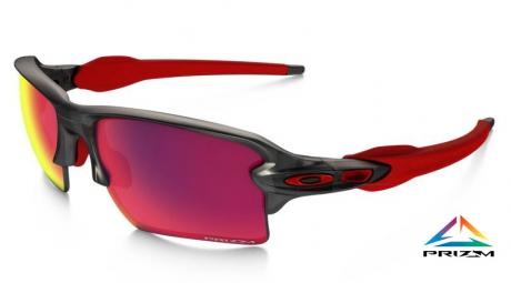 Oakley lunettes prizm road flak 2 0 xl grey prizm road ref oo9188 04