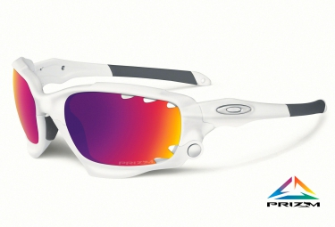 oakley lunettes prizm road racing jacket blanc mat ref oo9171 32