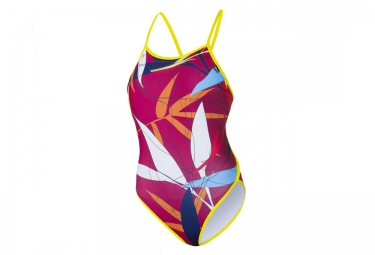 z3r0d maillot de bain 1 piece graphic rouge femme m