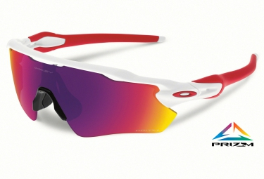 OAKLEY Lunettes PRIZM ROAD RADAR EV PATH White/Prizm Road Réf OO9208-05