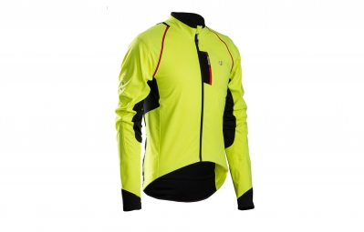 bontrager veste rxl 180 softshell convertible jaune haute visibilite xs