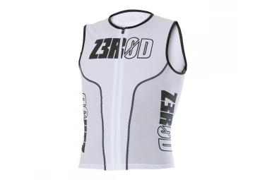 Z3ROD Haut pour Triathlon iSINGLET IRON White