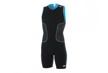Z3r0d combinaison pour triathlon isuit iron noir blanc bleu l