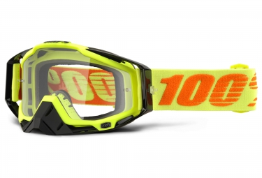 100 masque racecraft attack jaune ecran transparent