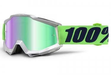 100 masque accuri nova argent ecran mirror vert