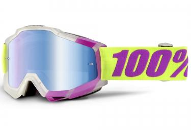 100 masque accuri tootaloo rose blanc ecran mirror bleu