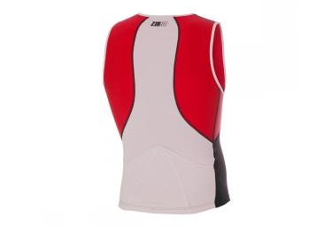 z3r0d maillot pour triathlon usinglet universal noir rouge blanc xl
