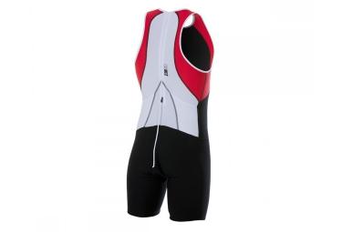 Traje de triatlón Z3R0D uSUIT UNIVERSAL Negro Blanco Rojo