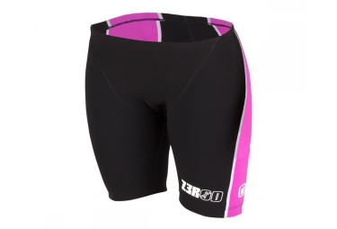 Short de triathlon femme z3r0d ishort iron noir rose xs