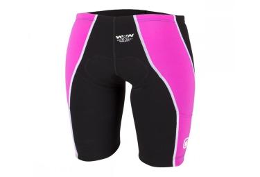 short de triathlon femme z3r0d ishort iron noir rose xs