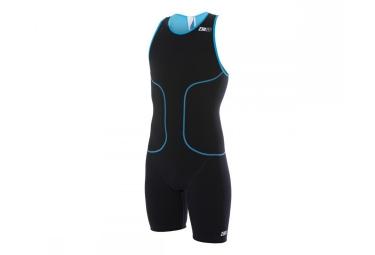 Z3R0D Combinaison de Triathlon oSUIT OLYMPIC Noir Bleu