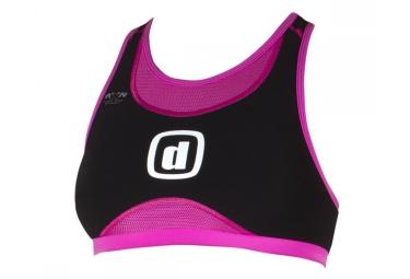 Z3rod brassiere de triathlon ibra iron noir rose femme xs