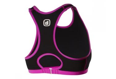 z3rod brassiere de triathlon ibra iron noir rose femme m