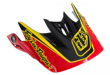 TROY LEE DESIGNS Visor D3 Orange Black