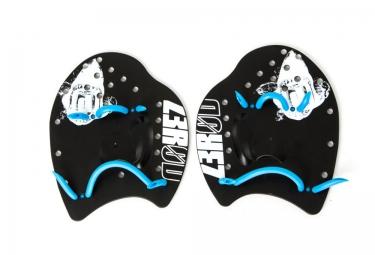 Z3R0D Paddle de Natation Noir Bleu
