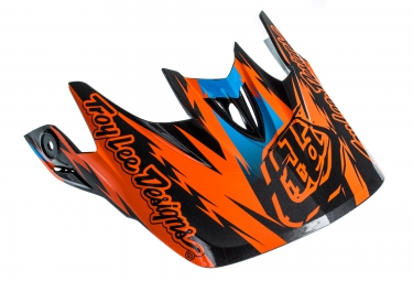Troy lee designs visiere d3 fall orange