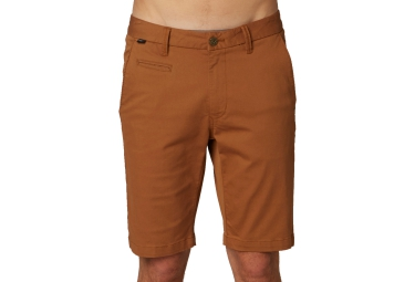 fox short selecter chino marron 36