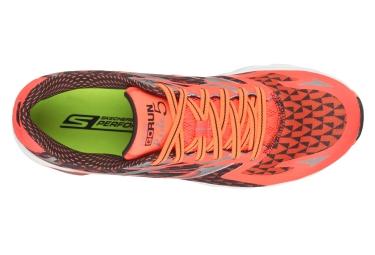 Chaussures de Running Skechers GO RIDE 5 Orange
