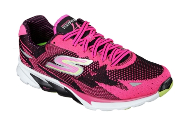 Chaussures de Running Femme Skechers GO RUN 4 Rose