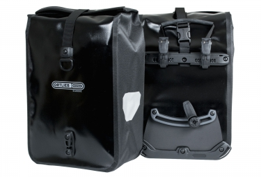 ortlieb paire de sacoches porte bagage avant front roller classic noir